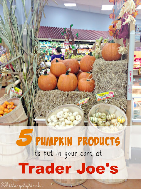 My Favorite Trader Joe's Pumpkin Picks for Fall