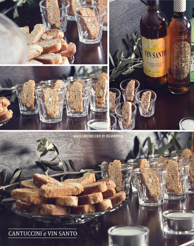 cantuccini e vin santo - fiesta toscana