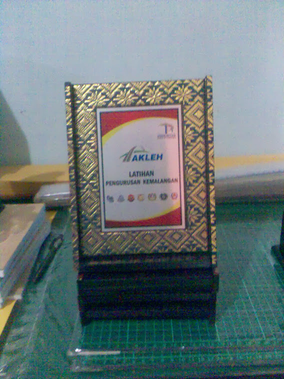 FLIP SONGKET PLAQUE 5 X 7''