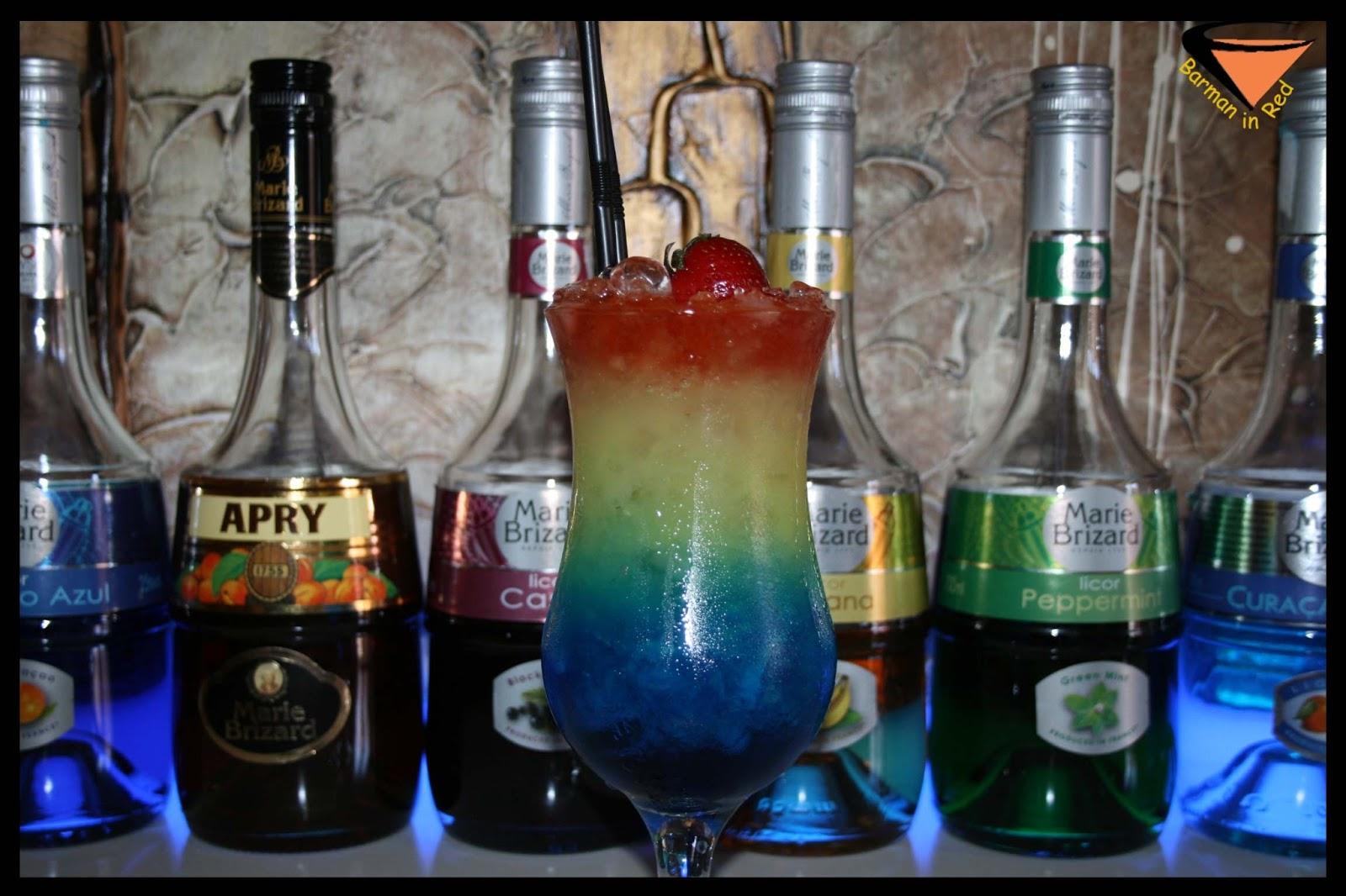 Barman In Red C Mo Hacer Un C Ctel Molotov - Cocteles Para Hacer En ...