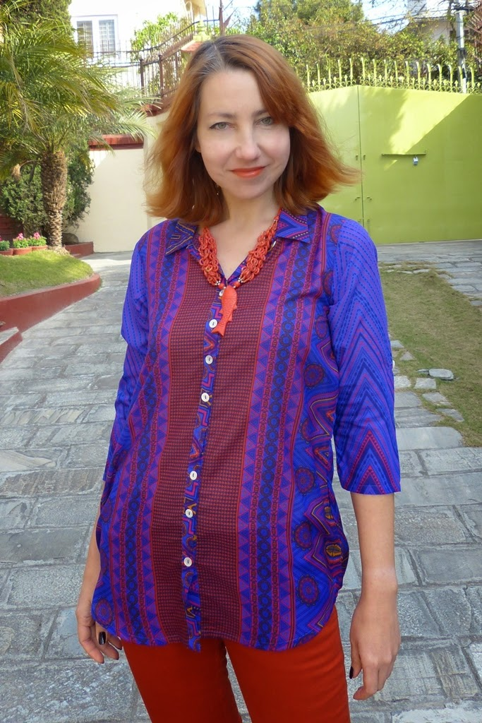 Printed shirt by Global Desi