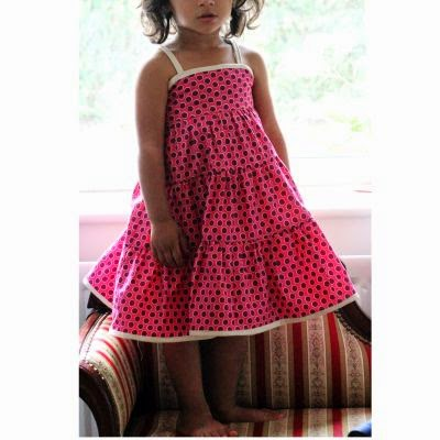 Mela Summer dress Free pattern