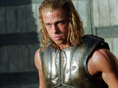 brad pitt troy shirtless. rad pitt wallpapers 2010. rad