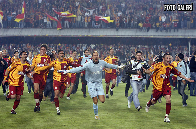 2011 - 2012 sezonu şampiyonu galatasaray oldu