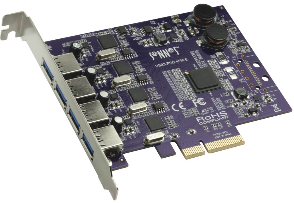 Bucknasty Orico Usb 30 7 Port Pci E Express Card