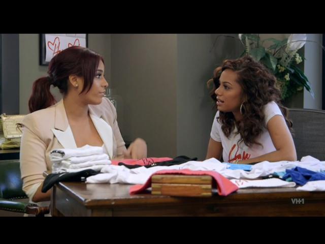 Erica Mena and Cyn Santana