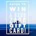 GIVEAWAY :: US$ 200 ZARA Gift Card