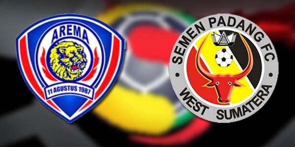 Hasil Skor Akhir: AREMA CRONUS vs SEMEN PADANG 8 Besar ISL (Sabtu, 4 Oktober 2014)
