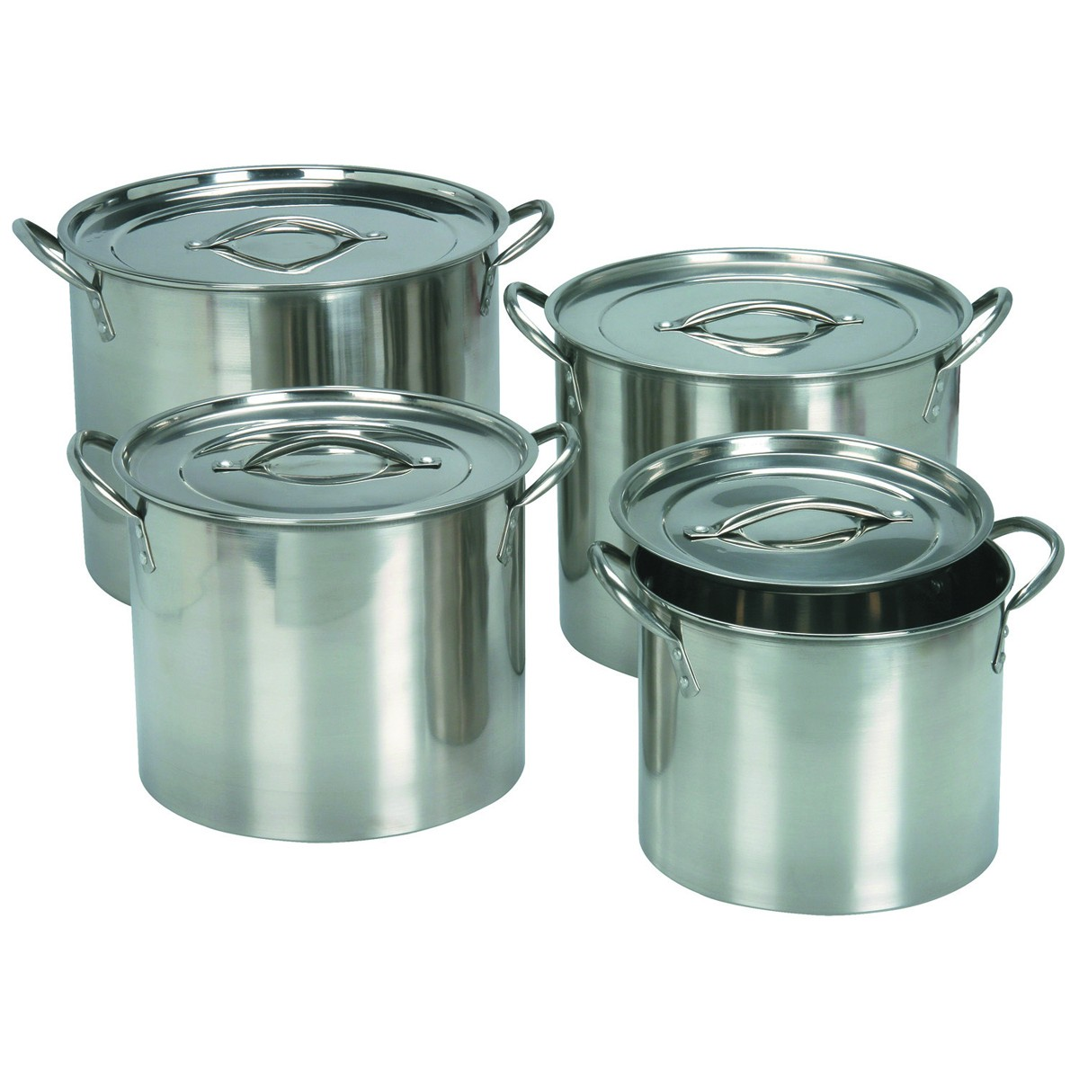 Stainless Steel Cooking Pots Images