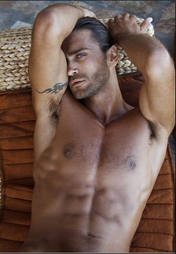Beautiful Hairy Man Theo Theodoridis From Greek