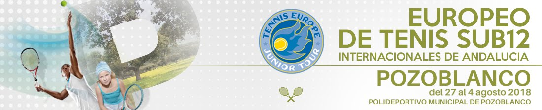 Club Tenis Pozoblanco | Escuela Municipal de Tenis de Pozoblanco | Europeo de Tenis Sub 12