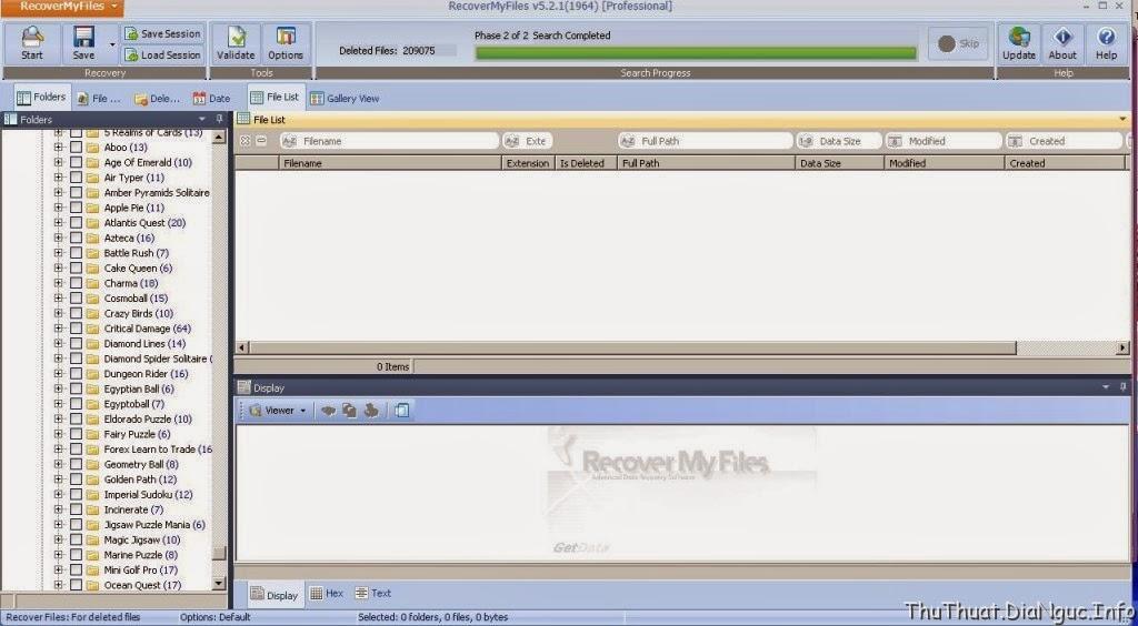 Recover My Files 5 Full Crack – Phần mềm khôi phục dữ liệu