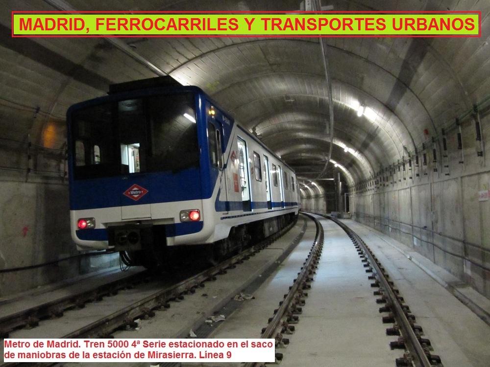 Madrid, Ferrocarriles y Transportes Urbanos
