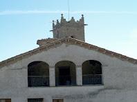 Eixida de tres ulls a les golfes de la rectoria de Sant Andreu
