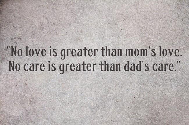 Không có tình yêu nào lớn hơn tình yêu của mẹ