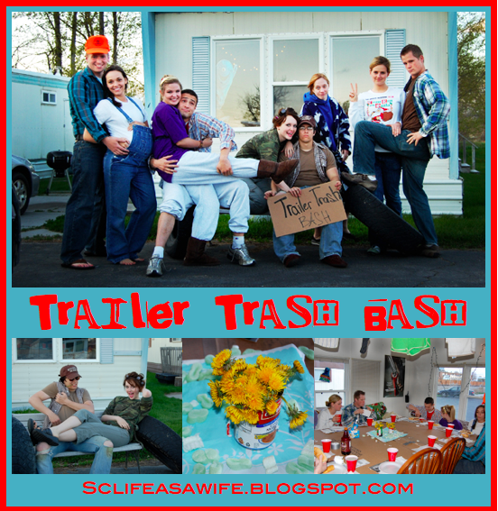 Trailer Trash Party Ideas l Red Neck Party