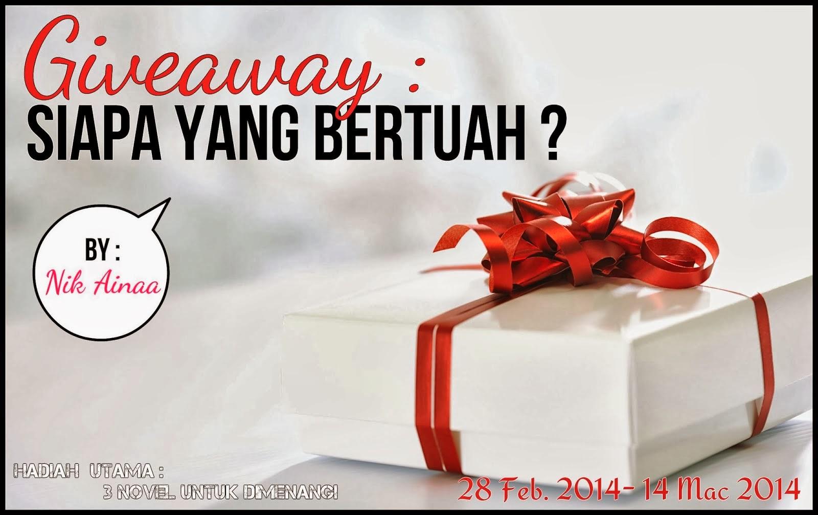 http://nikainaa.blogspot.com/2014/02/giveaway-siapa-yang-bertuah.html