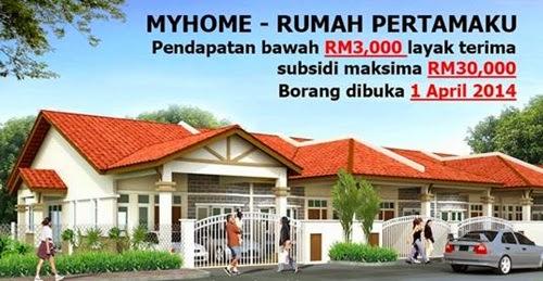 Skim Perumahan Mampu Milik Swasta (MyHome) , 37,000 mohon skim MyHome - Skim Perumahan Mampu Milik Swasta