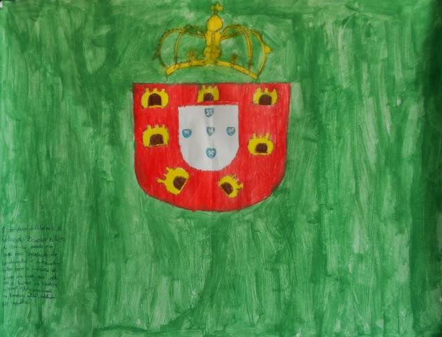 Bandeira de D. Pedro II, de Portugal