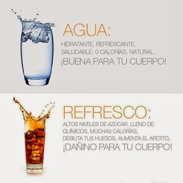 agua refresco