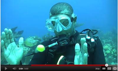 深海 水中打蛋
