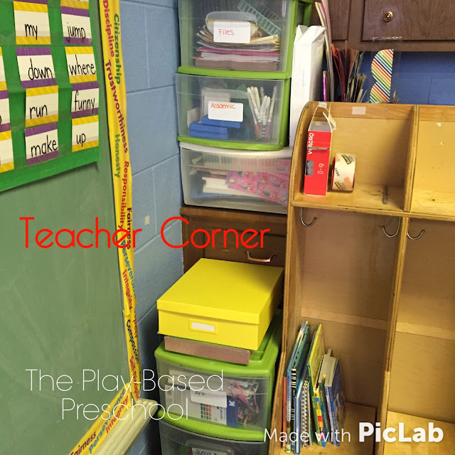 Since I have extra lockers they are used for teacher storage too.