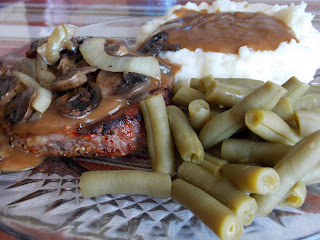 Smothered Steak & Mushrooms