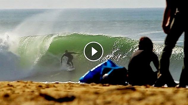 Surf Session Epic swell 2 HOURS IN FRANCE