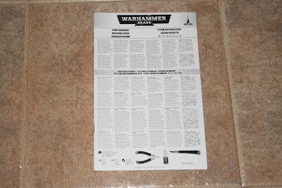 Warhammer 40000 Venganza Oscura Instrucciones de Montaje