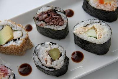 Sushi fusión en Caché cocktelería. Blog Esteban Capdevila
