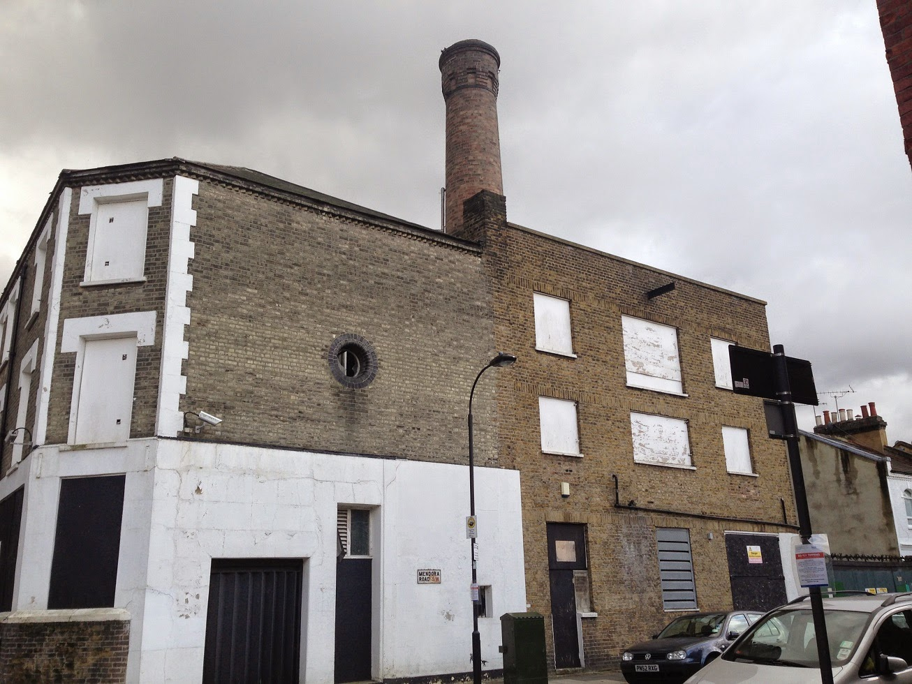 Disused building, Mendora Road, Fulham, London SW6