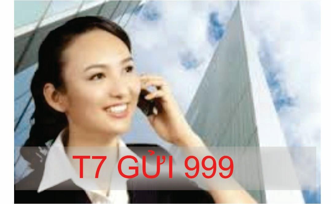 Khuyến mại gói thoại T7 của Mobifone