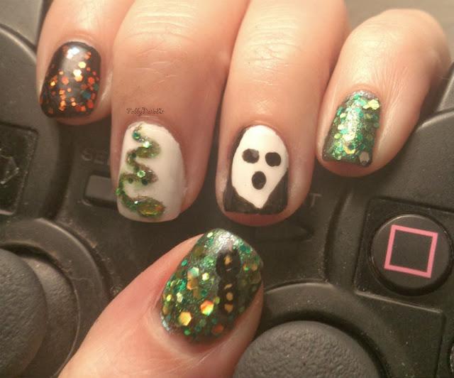ease halloween nail art