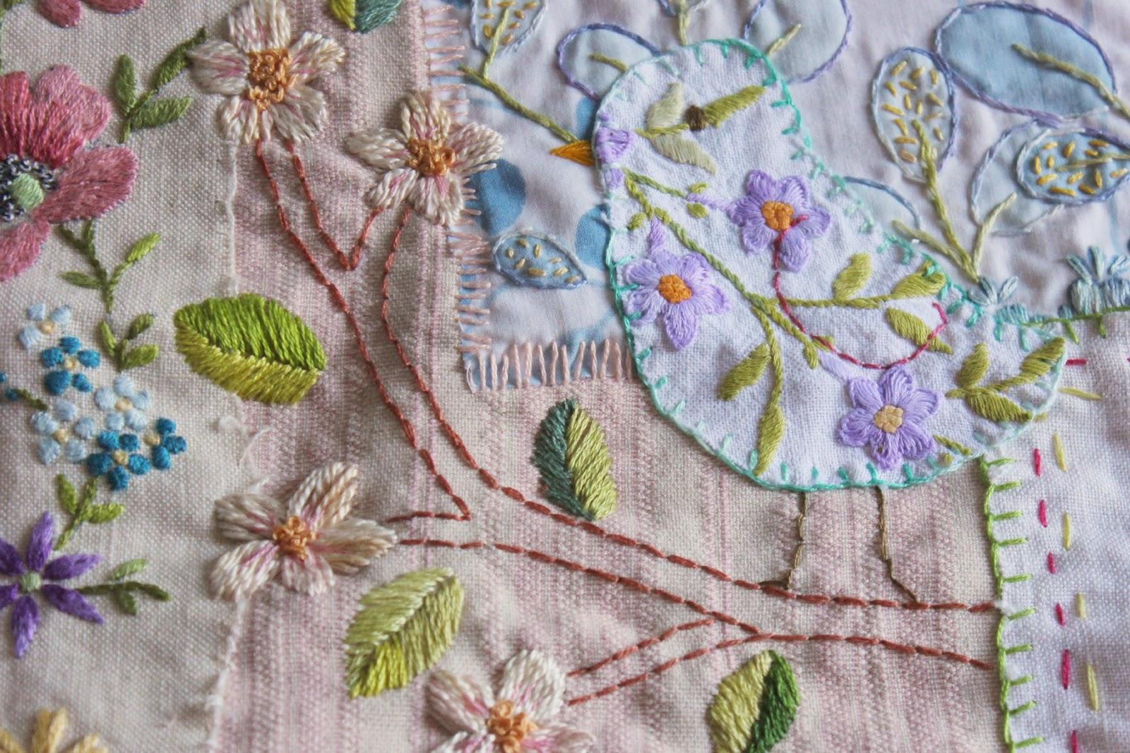 Embroidery work near me makaroka