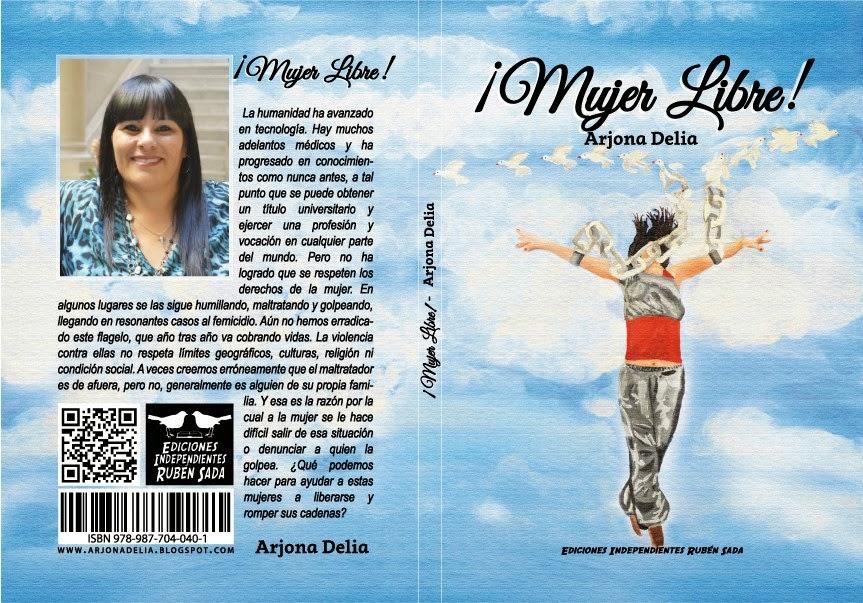 """Podes adquirir el Libro ¡Mujer libre! por """"Mercado libre"""""""