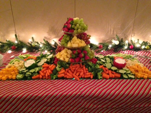 Cook Create Consume Fruit And Vegetable Platter Centerpiece