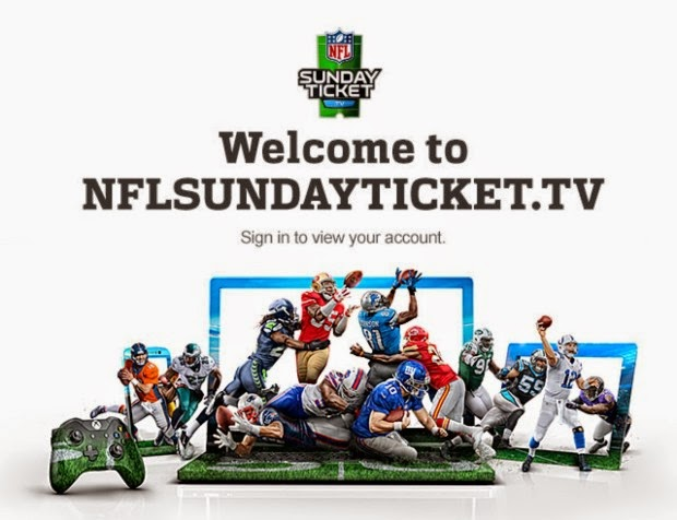 Sunday Ticket live streaming