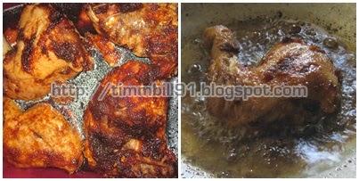 Perapan, ayam goreng, nasi ayam