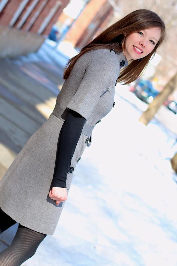 Black Sweater Dress Tights