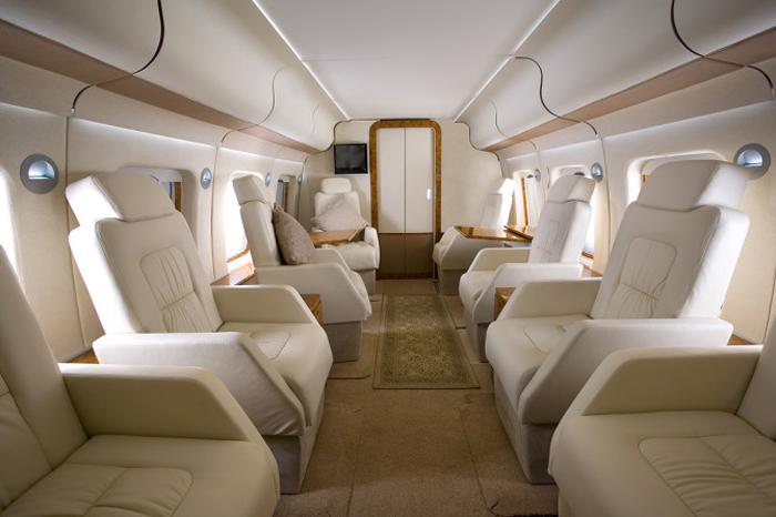 Agusta Westland AW101 VIP cabin interior