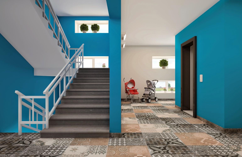 Дизайн подъездов в многоквартирных домах