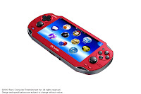 PS Vita Cosmic Red (Front)