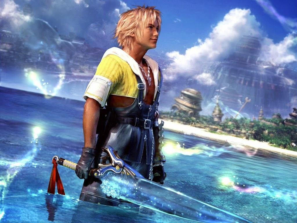 Tidus, protagonista de Final Fantasy Z | Aula particular de inglês com games