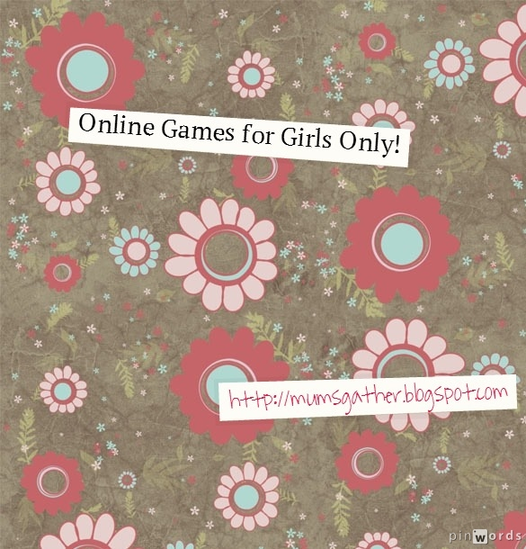 online games only for girls