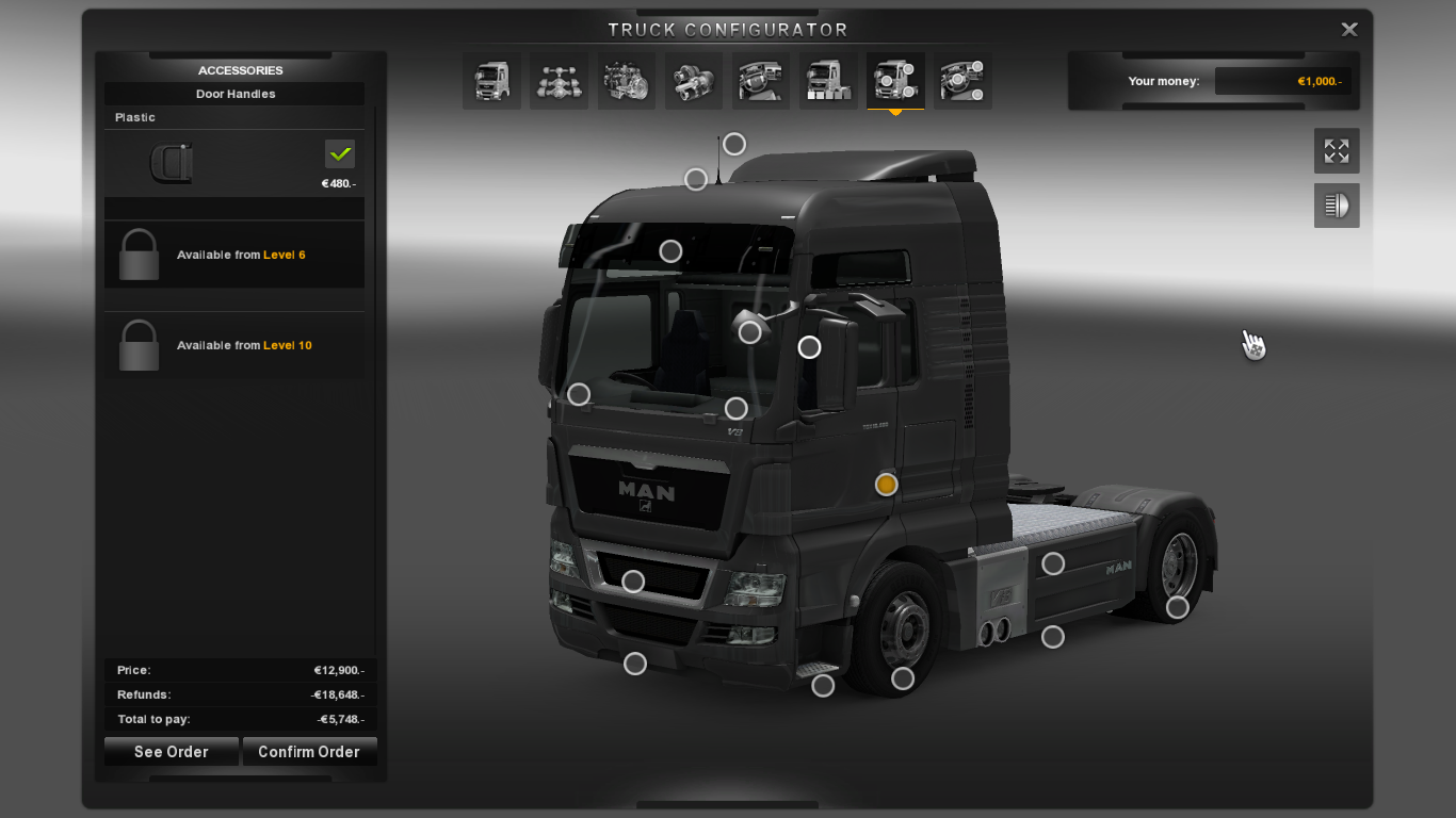 Download Euro Truck Simulator 2 - modifikasi