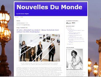 Nouvelles Du Monde