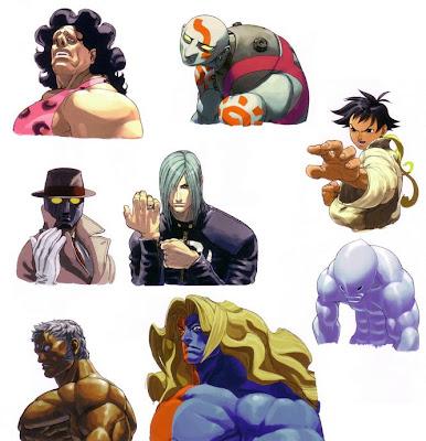 Q Street Fighter 4 R.Mika's Training Room...