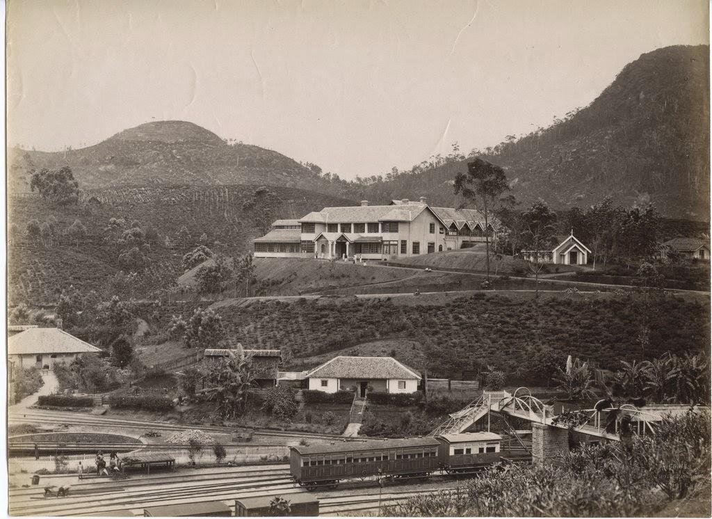 Adam's Peak Hotel in Sri Lanka - c1880's