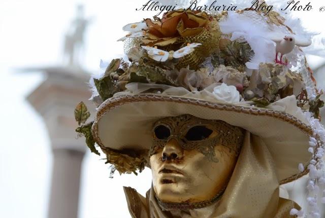 Foto di maschere al Carnevale di Venezia