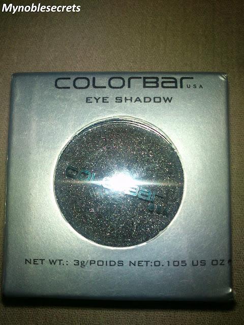 Black eyeshadows
